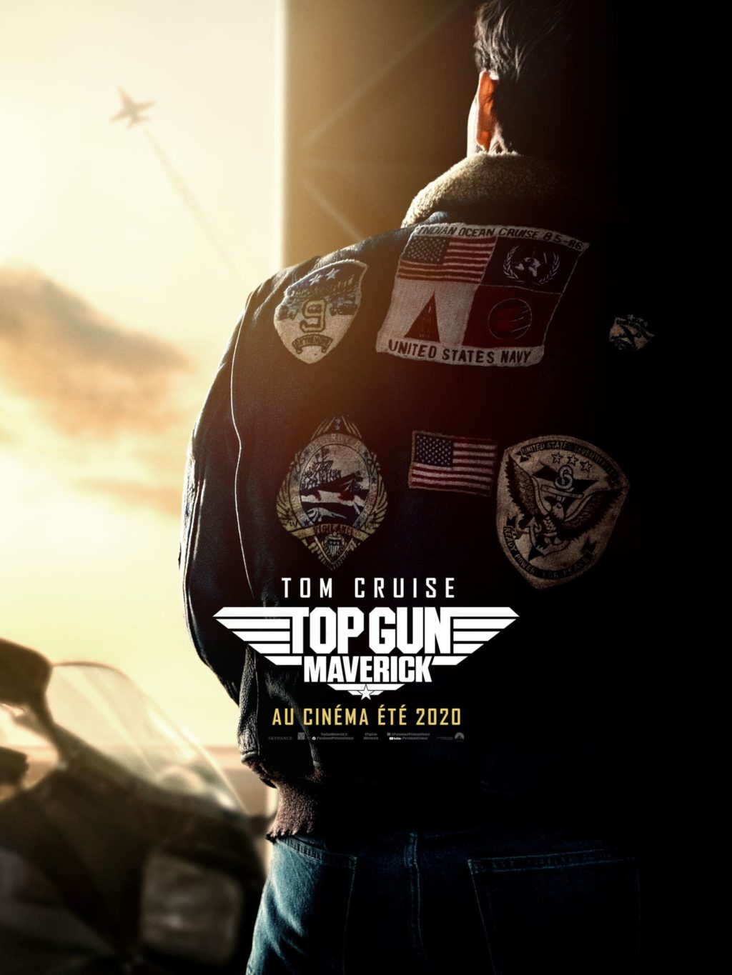 Affiche du film TOP GUN Maverick