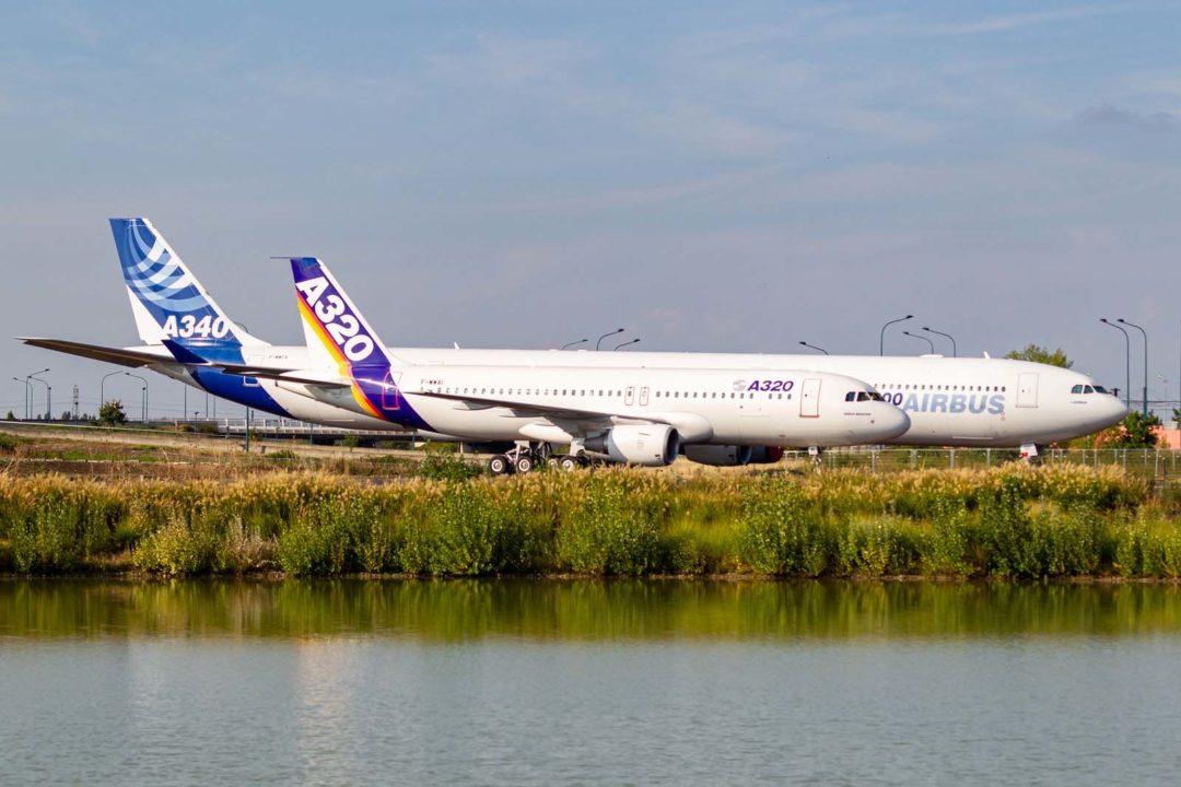 A320-111 MSN001 et A346-642 cn 360