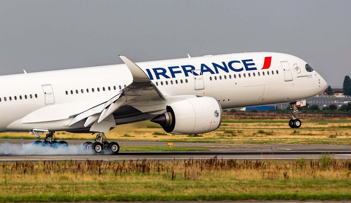 A350-900 Air France [F-HTYA / MSN331 / F-WZFN] Retour du 1er vol