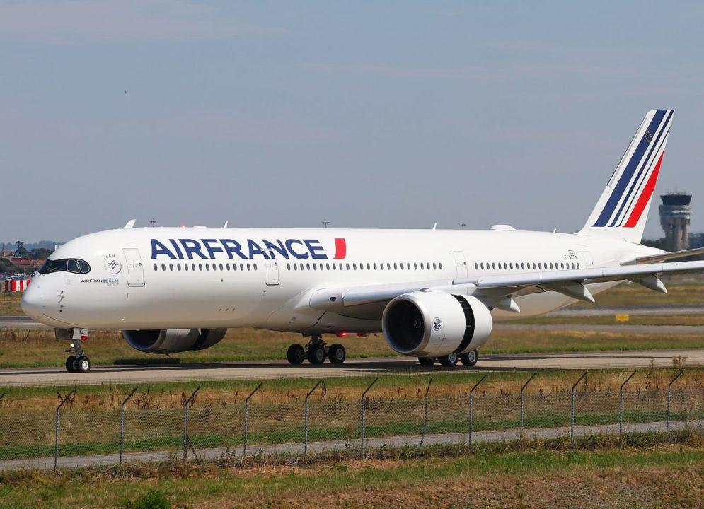 RTO du 1er A350-900 Air France [F-HTYA / MSN331 / F-WZFN]