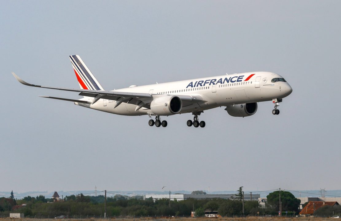 Retour du 1er vol pour le 1er A350-900 Air France [F-HTYA / MSN331 / F-WZFN]