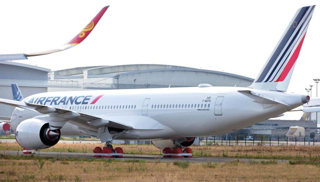 2e Airbus A350-900 Air France [MSN 349 / F-HTYB]