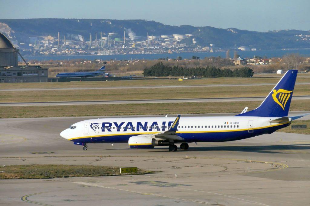 B737 Ryanair à Marseille