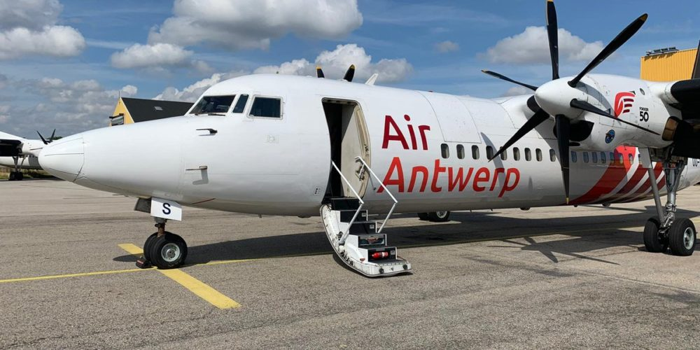 Fokker 50 Air Antwerp