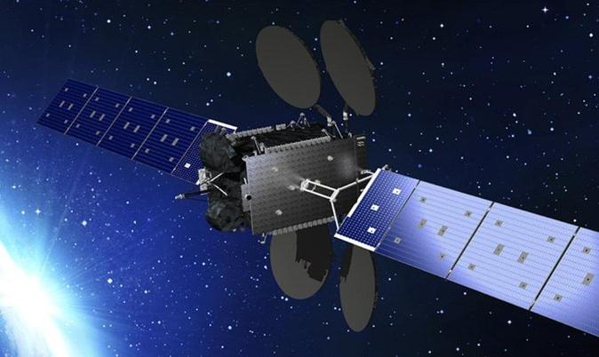 Vue 3D du satellite Ovzon-3