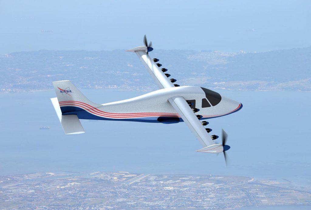 Avion électrique expérimental américain développé par la NASA