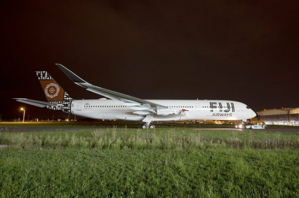 1er A350-900 Fiji Airways MSN299 / F-WZFR