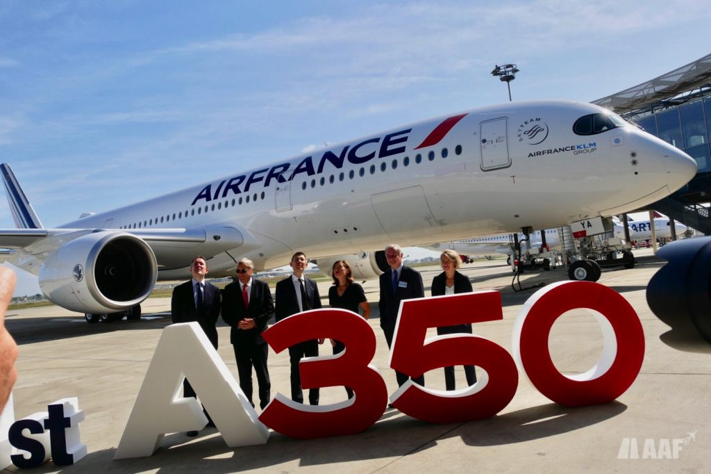 1er A350-900 Air France [F-HTYA / MSN331 / F-WZFN] © AAF - reproduction interdite