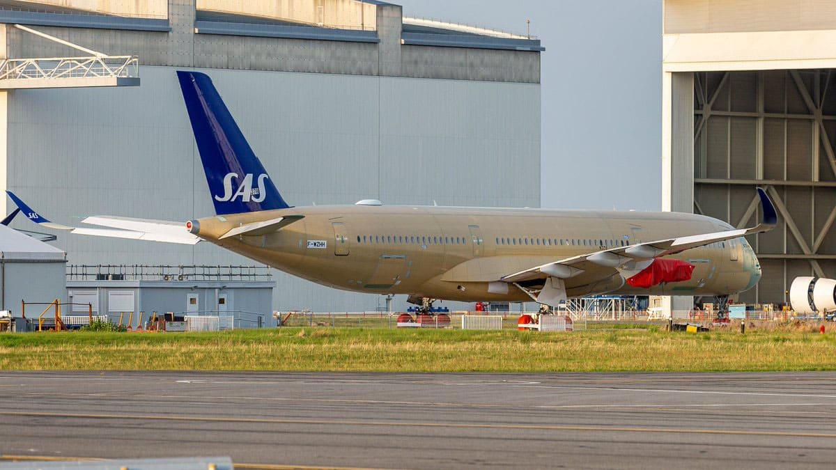 Airbus A350-941 SAS s/n 378