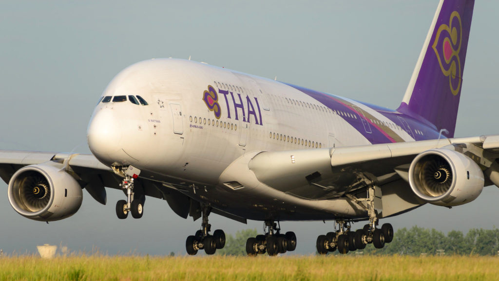 Airbus A380 Thaï Airways HS-TUA