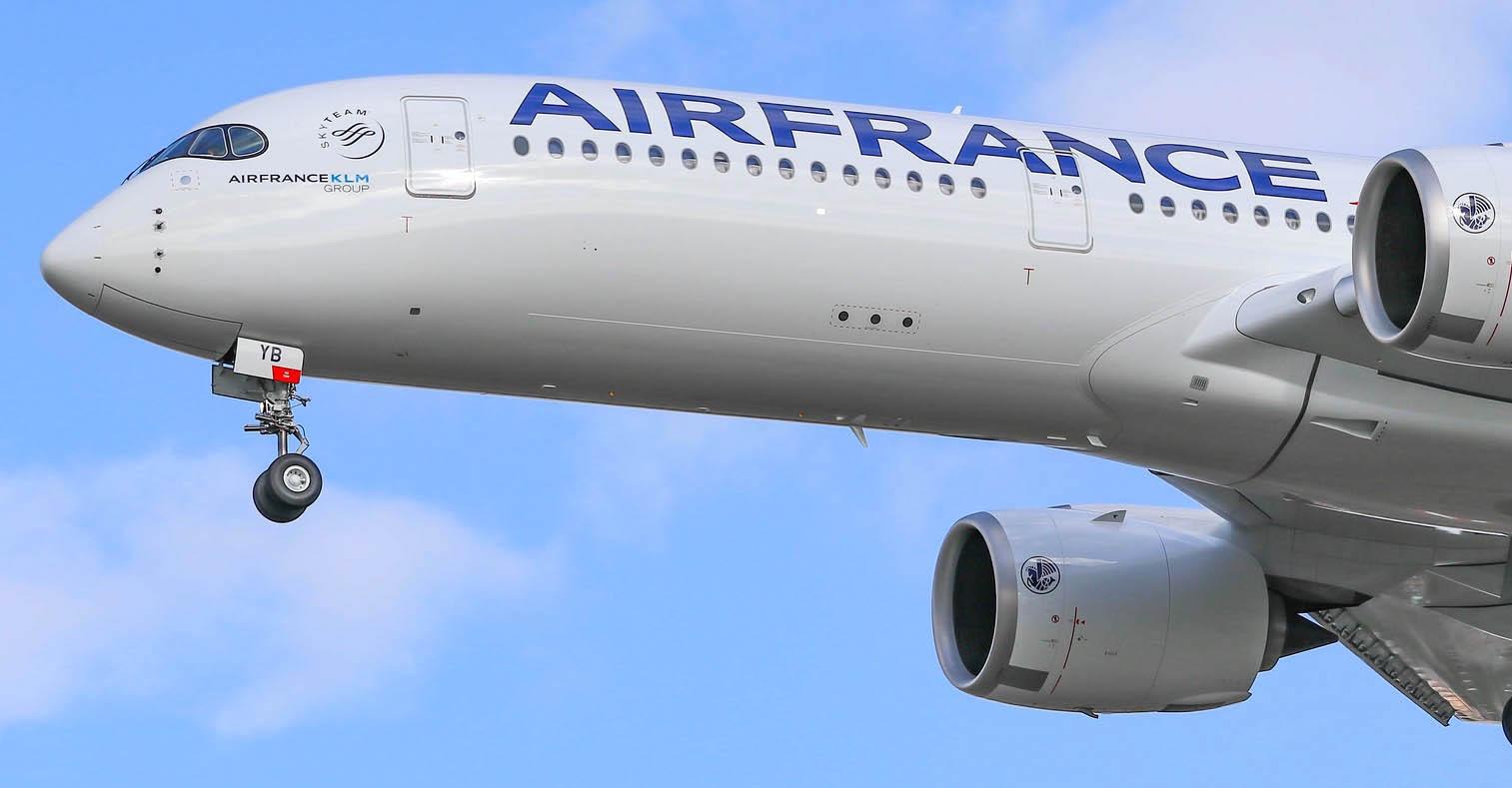 2e A350 Air France [F-HTYB / MSN349]