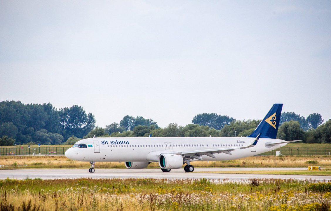 Air Astana A321LR (neo) P4-KGA