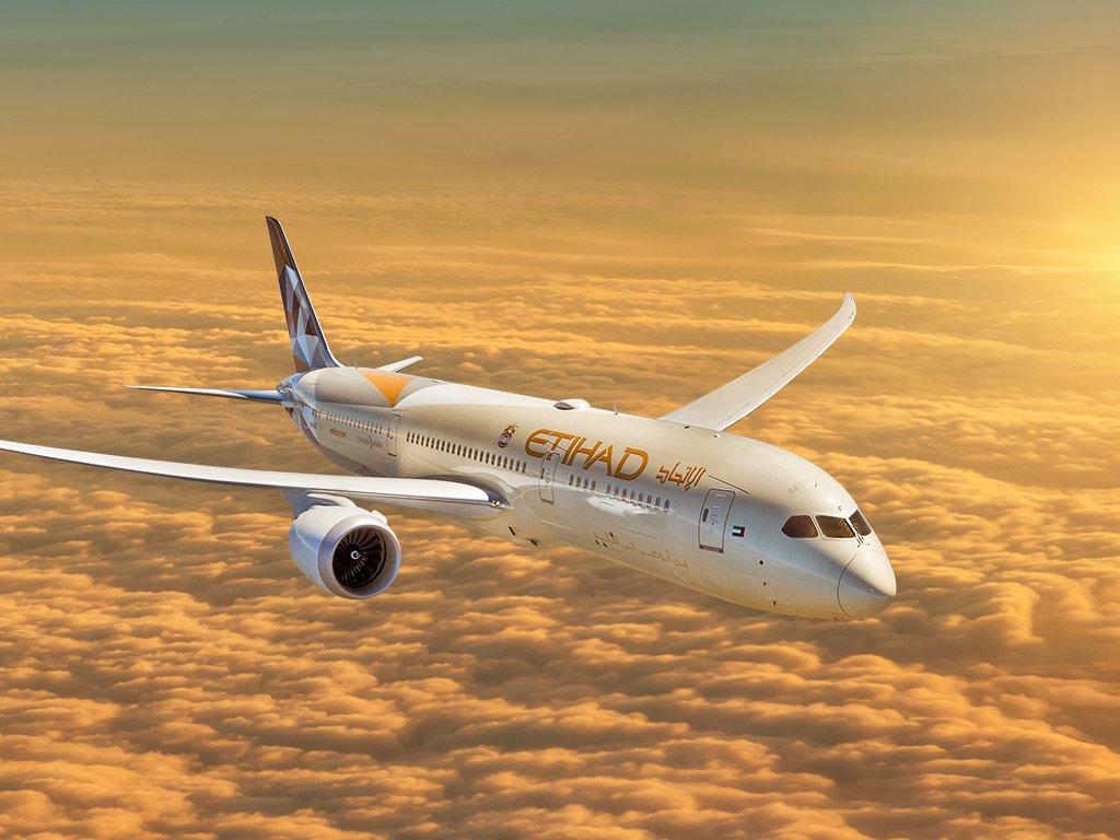 Boeing 787-9 Etihad