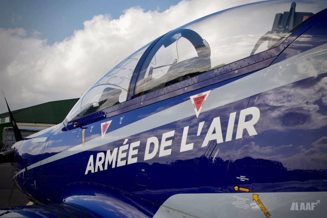 Pilatus PC-21 de l'Armée de l'Air à Cognac