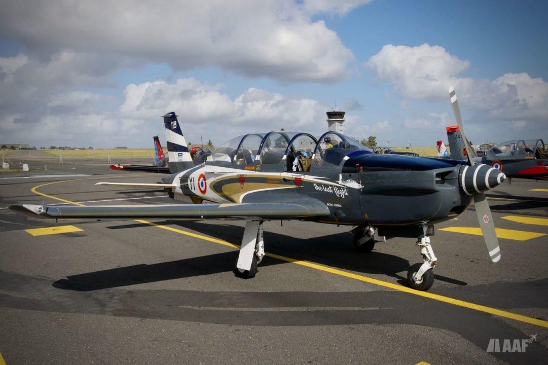 Livrée spéciale dernier vol du Socata TB-30 Epsilon de l'Armée de l'Air