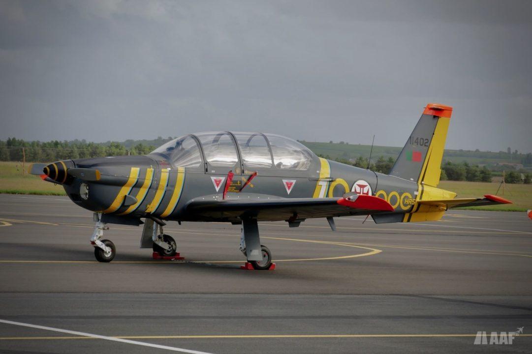 TB-30 appartenant aux forces aériennes portugaises