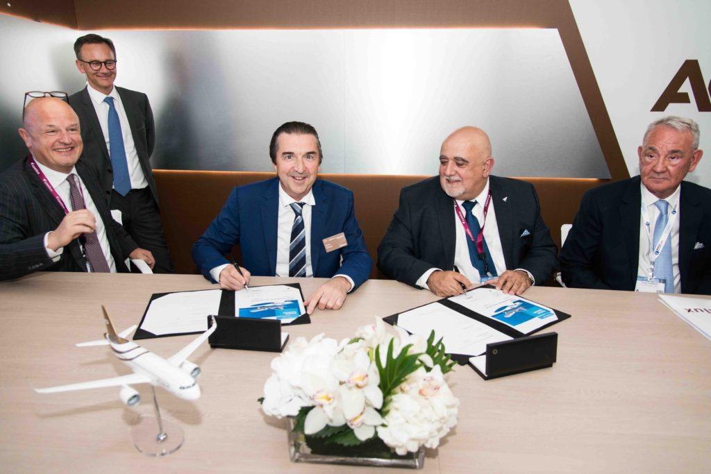 Signature entre Airbus et Comlux