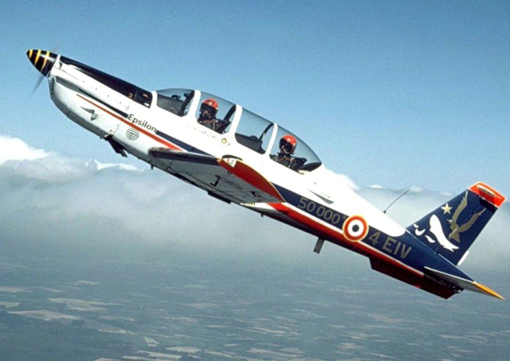 Socata TB-30 Epsilon de l'Armée de l'Air en vol