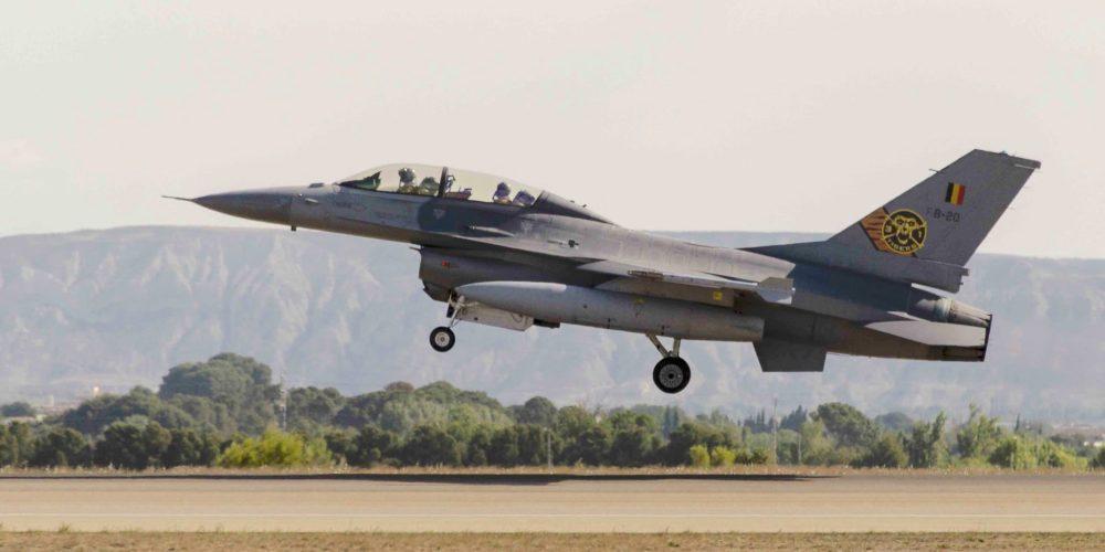 F-16 de la Force Aérienne Belge
