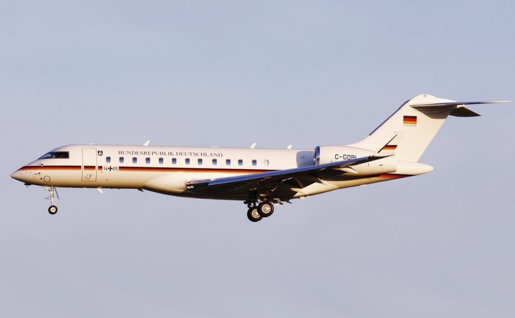 Bombardier Global 6000 de la Luftwaffe