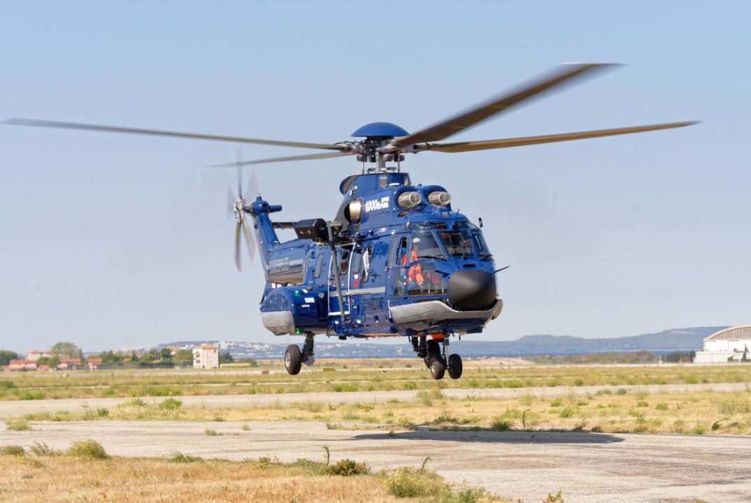 Super Puma H215M Airbus Helicopters