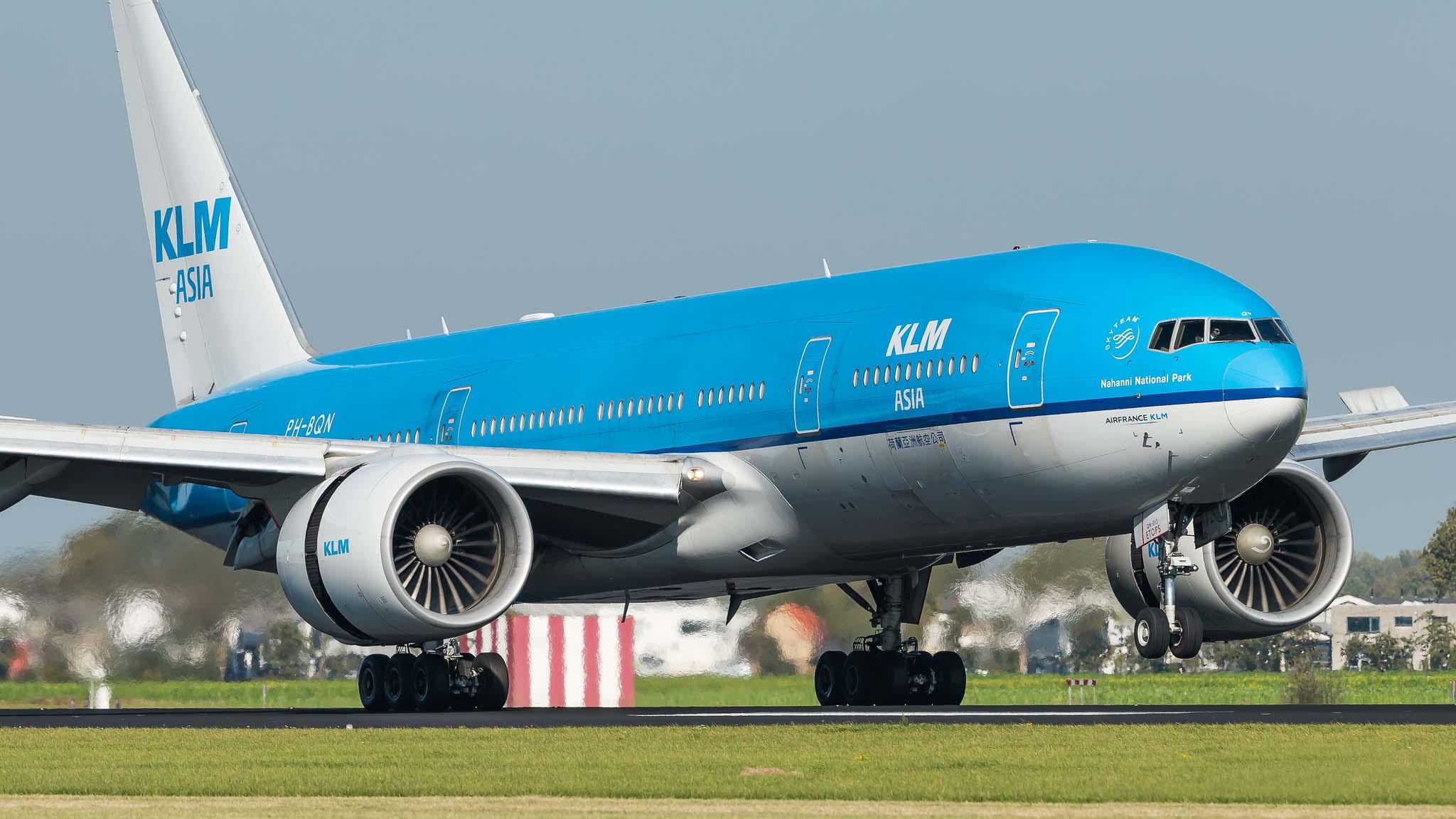 Boeing 777-206(ER) KLM Asia PH-BQN