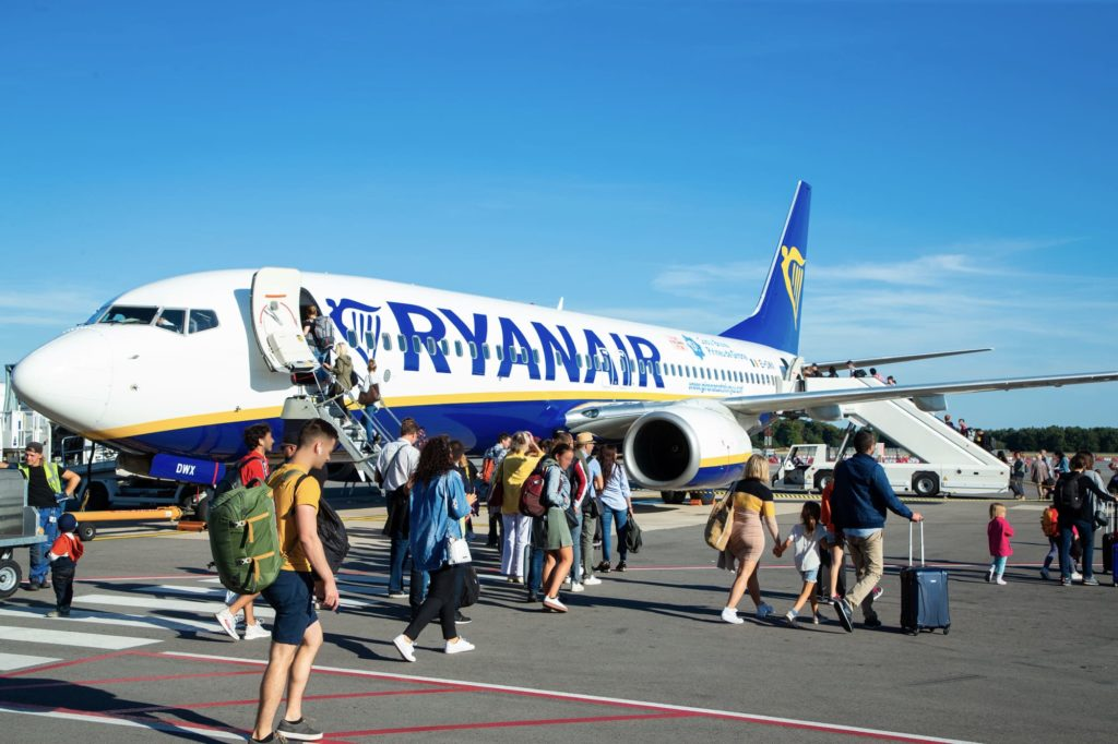 Ryanair à Luxembourg