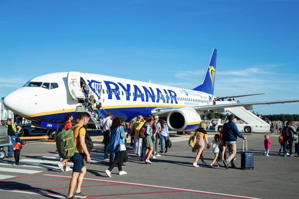 Ryanair à Luxembourg