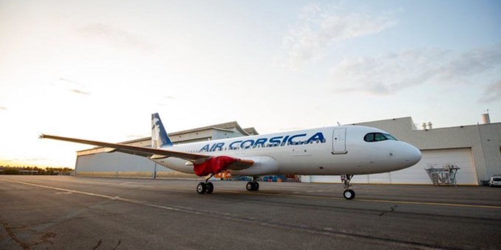 1er A320neo Air Corsica