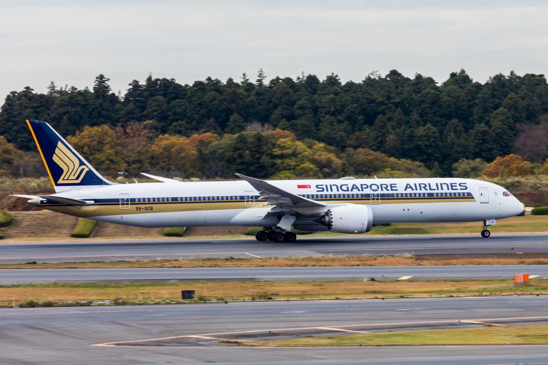 Singapore Airlines B787-10 Dreamliner