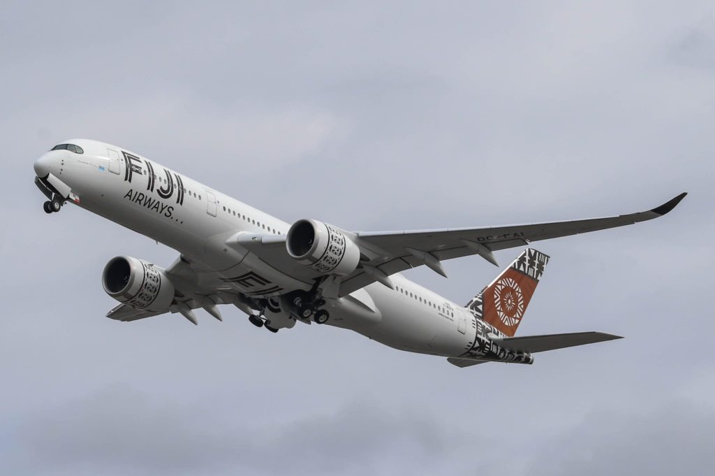 Fiji Airways Airbus A350-941 DQ-FAI / msn 299