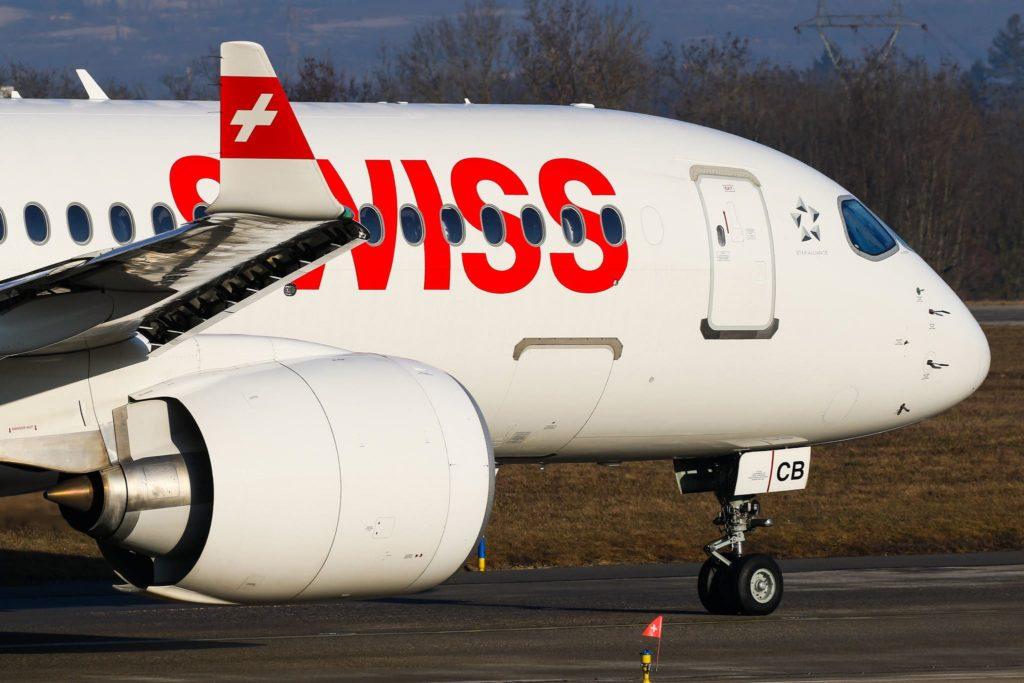HB-JCB A220 Swiss