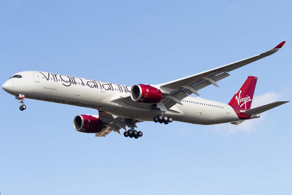 Virgin Atlantic Airways Airbus A350-1041 G-VPRD MSN319