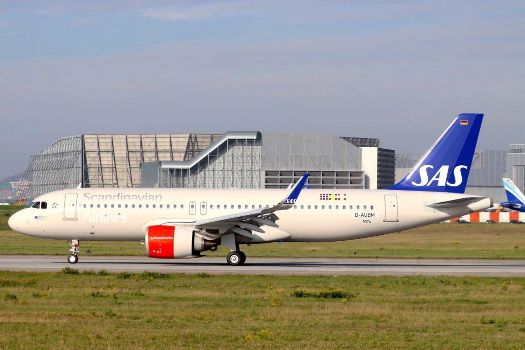 SAS A320neo [MSN9074 / SE-ROS / F-WWBC] à Hambourg