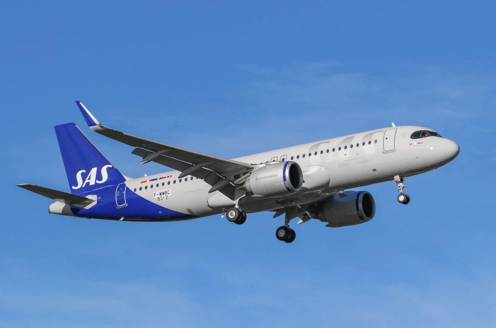 SAS A320neo [MSN9312 / SE-ROJ / F-WWBC] décolle de Toulouse