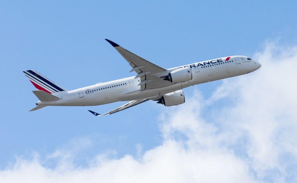 2e A350 Air France [F-HTYB / MSN349 /F-WZFQ]