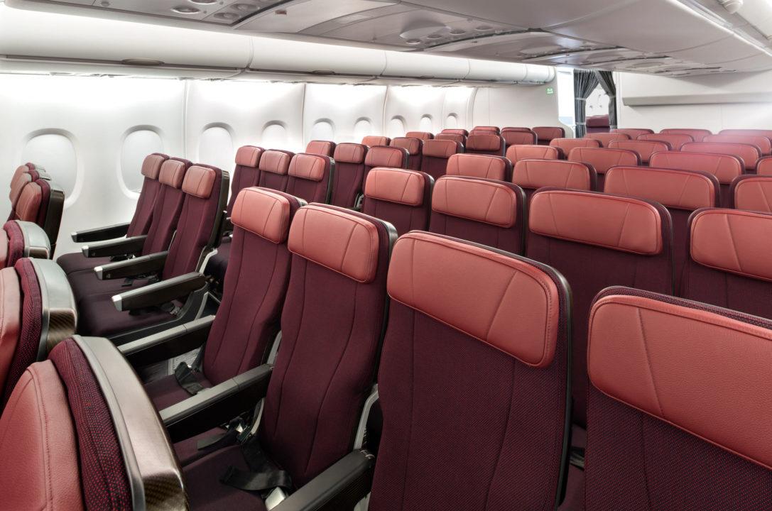 Cabine Eco Qantas