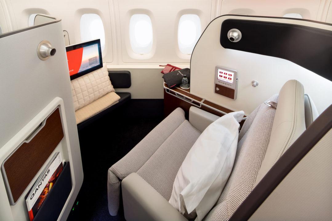 Première classe Qantas