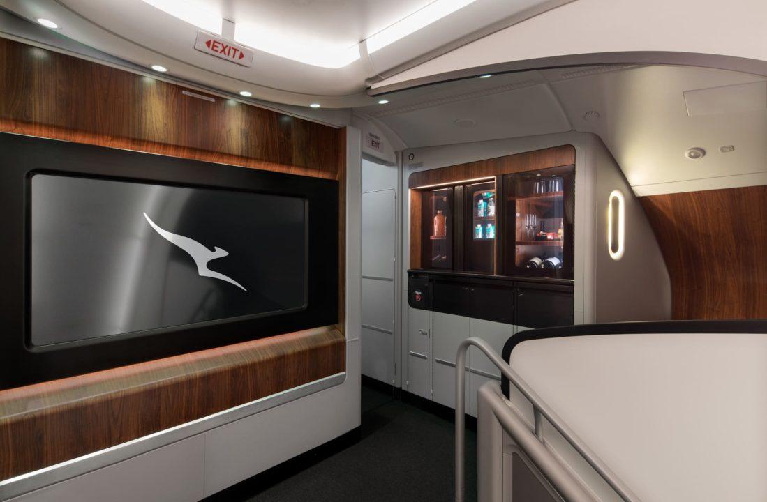 Pont supérieur A380 Qantas