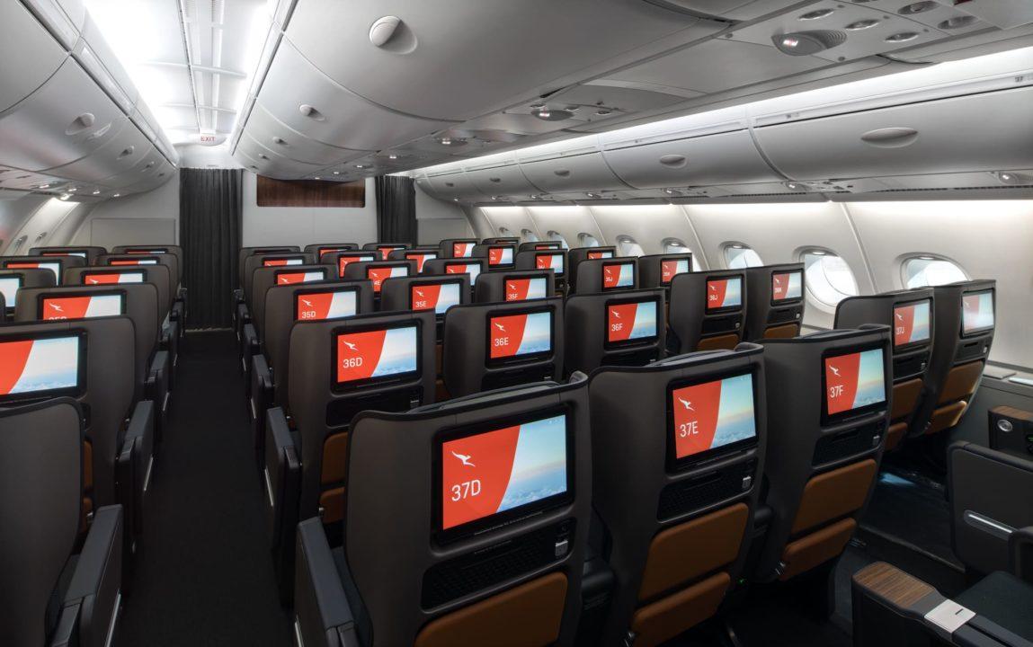 Premium Eco Qantas