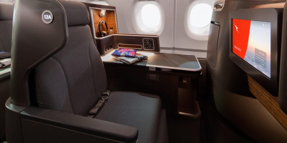Qantas Business Suite