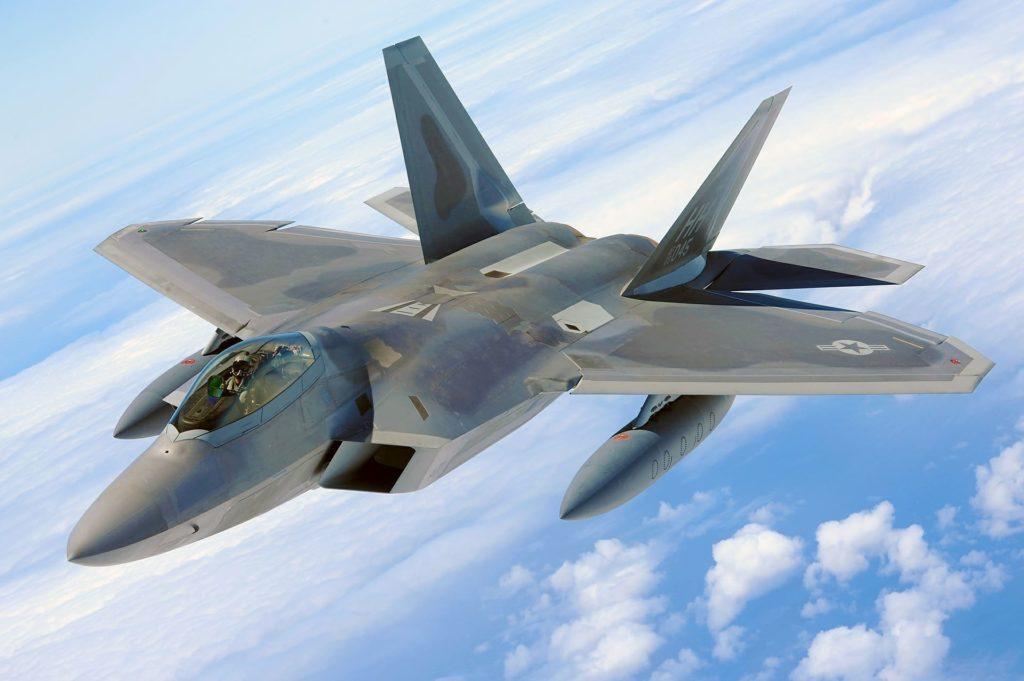 USAF F22 Raptor de Lockheed Martin