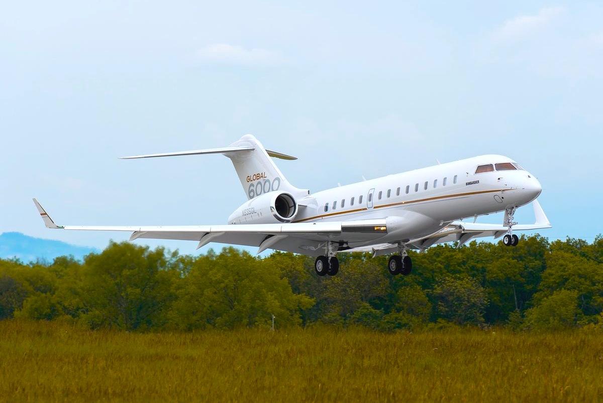 Global 6000 Bombardier Jet