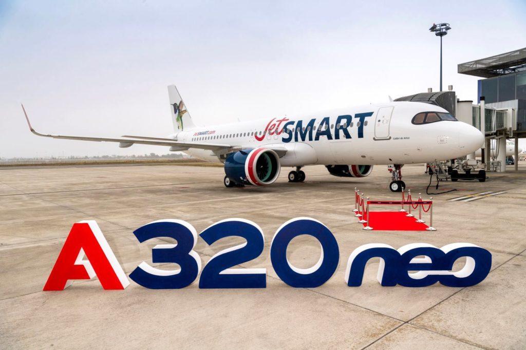 1er A320neo JetSMART [CC-AWJ / MSN 9194]