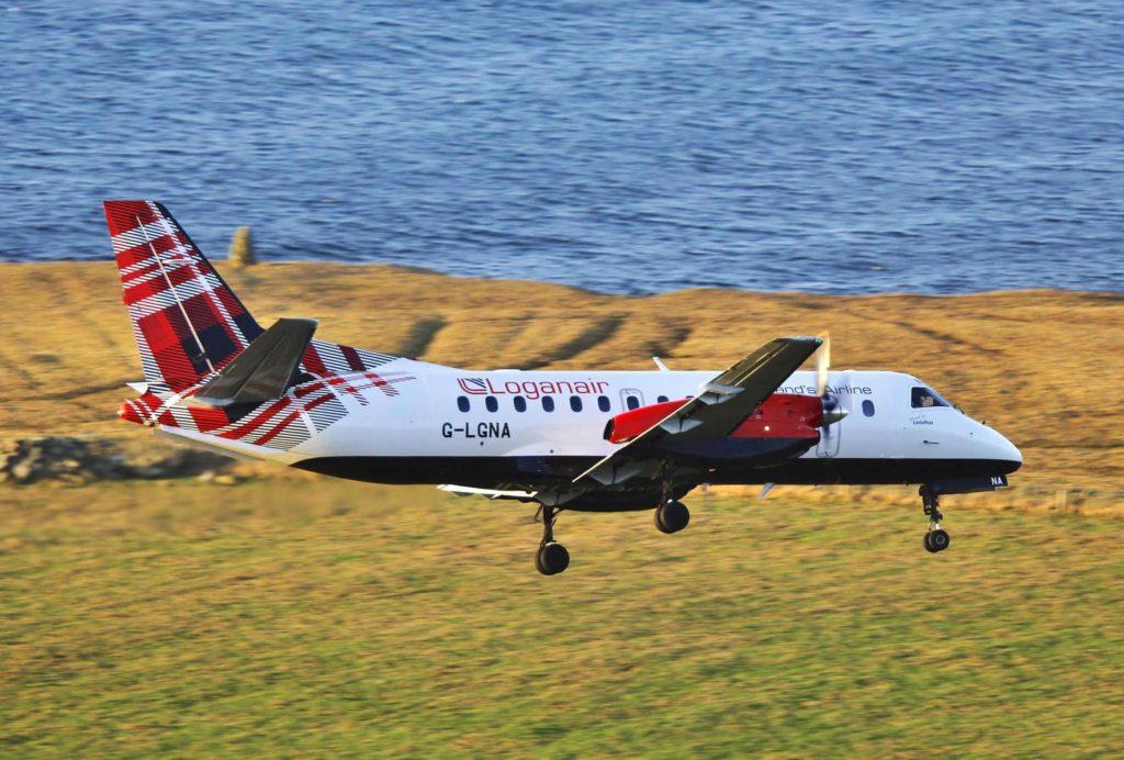Loganair SAAB 340 en finale