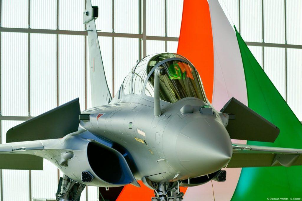 1er Rafale IAF, Inde