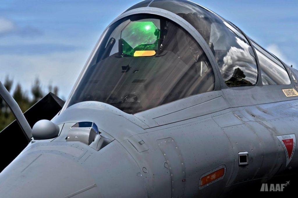 Rafale Cockpit HUD