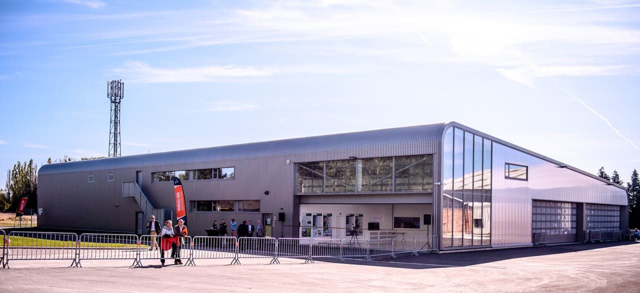 Nouveau hall d'assemblage à Namur