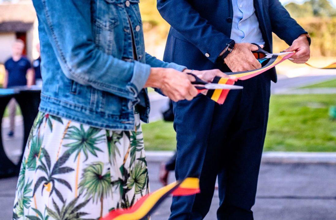 Inauguration Sonaca Aircraft à Namur