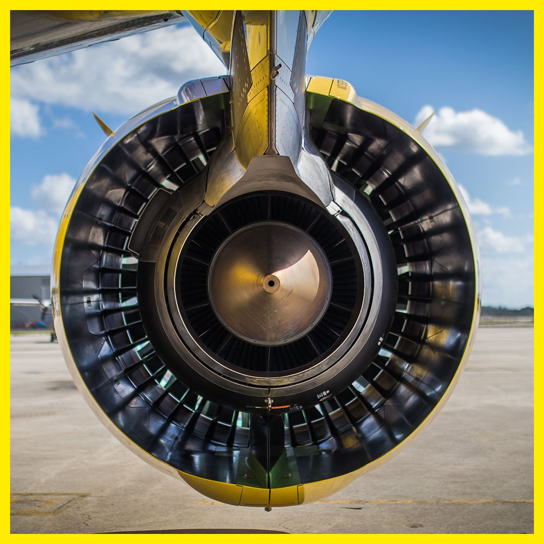 Spirit Airlines A320neo Engine